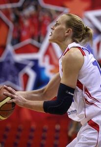 Katie Douglas vem sendo um dos destaques do CSKA