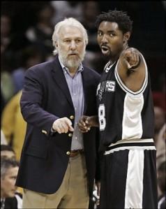 Em pouco tempo Roger Mason conquistou o técnico Gregg Popovich e virou titular absoluto no Spurs