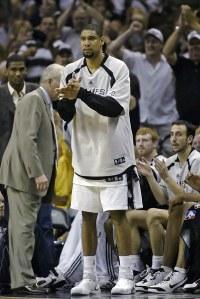 Em plena forma, Duncan busca seu quinto titulo na NBA