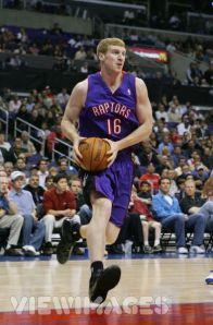 Matt Bonner quando ainda atuava no Canadá pelo Toronto Raptors