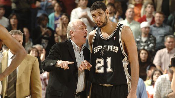Duncan afirmou que Popovich acertou ao poupar jogadores na última terça-feira. (Photo by ESPN.com)