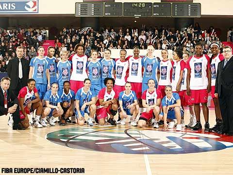 Equipes confraternizam antes do duelo do All-Star Game; selecionado europeu foi soberano no duelo