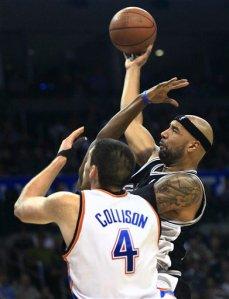 Gooden fez sua melhor partida com a camisa do Spurs (Foto porSue Ogrocki/AP Photo)
