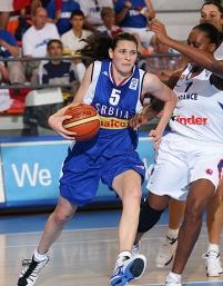 Versátil, Sonja Petrovic pode ser o futuro das Silver Stars