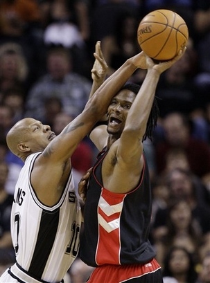 Raptors Spurs Basketball