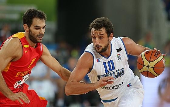 Belinelli ajudou a Itália a vencer a Espanha (Fiba Europe/Elio Castoria)