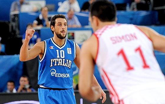 Belinelli não fez boa partida contra a Croácia (FIBA Europe/Castoria/De Massis)