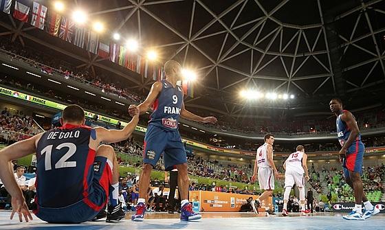 Parker e De Colo não deram a vitória à França (FIBA Europe/Elio Castoria)
