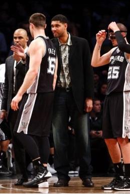 Desfalques viraram rotina no Spurs (AP Photo/Jason DeCrow)