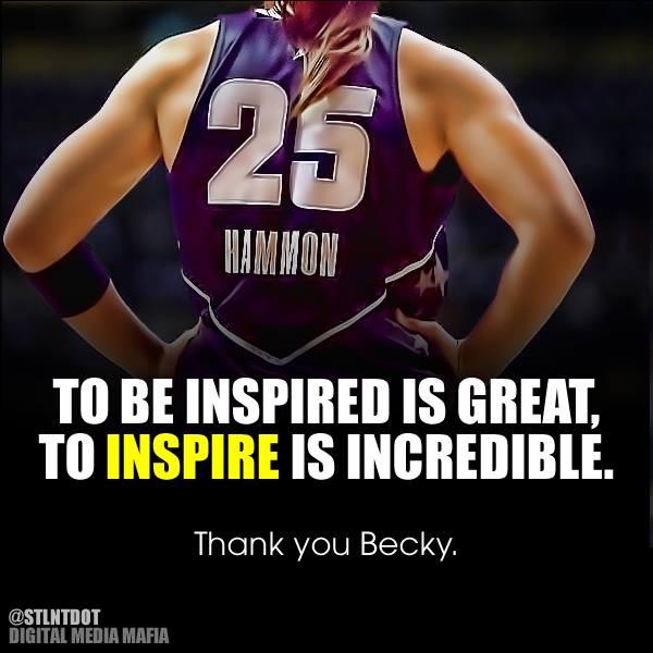 Inspiradora um dos poucos adjetivos que definem Becky Hammon e sua carreira (Arte: Linda Estepe)