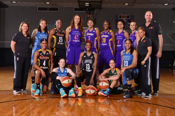 Danielle Robinson fez parte do elenco do Oeste do All-Star Game da WNBA (Phoenix Mercury)