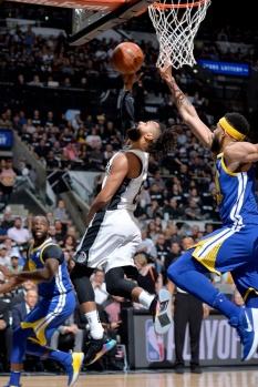 Golden State Warriors v San Antonio Spurs - Game Three