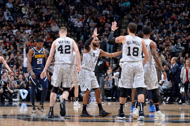 Denver Nuggets v San Antonio Spurs